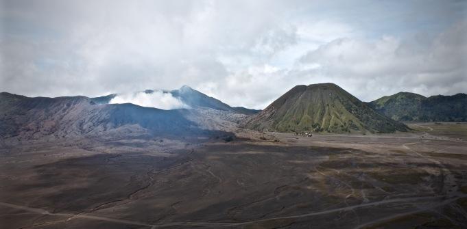 Bromo Tengger Semeru panoramic view