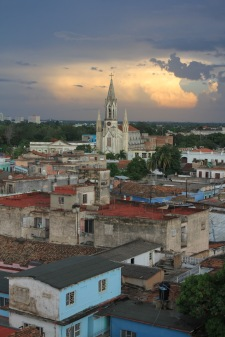 Gran Hotel rooftop view over Camaguey