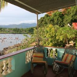 Sea view from a casa particaular in La Boca near Trinidad Cuba