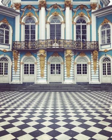 Pavillion in Catherine's Park Tsarskoye Selo