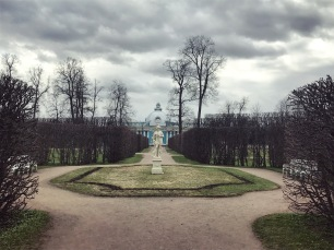 Catherine's Park gardens Tsarskoye Selo
