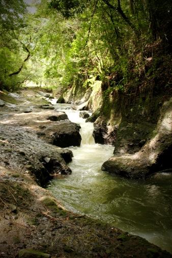 Riverbed near Chorro de las Mozas El Valle Panama