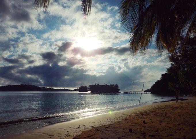 Coiba island beach Panama