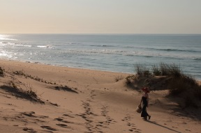 Going to the beach at Dunes de Dovela Mozambique