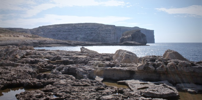 Fungus Rock at Dwerja Point