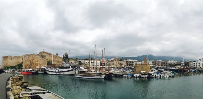 Kyrenia harbor view Girne Northern Cyprus