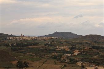 Gozo interior landscape
