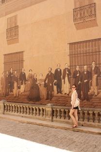 Walking past Havana's street art