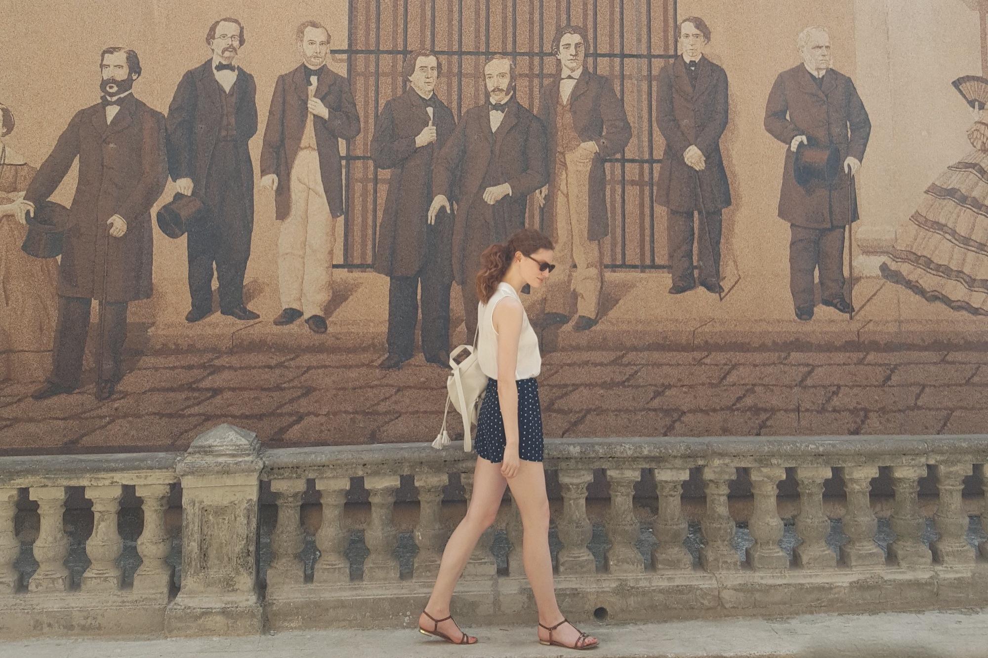 Habana Vieja street art mural