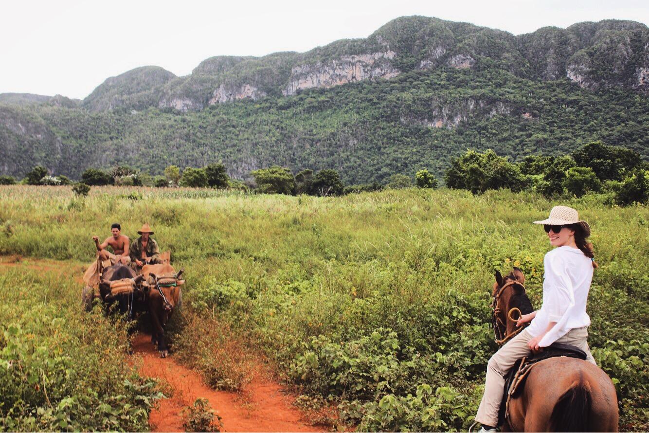Horse riding in Vinales Cuba