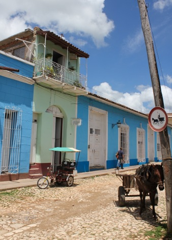 Look out for horse carts on the streets of Trinidad Cuba