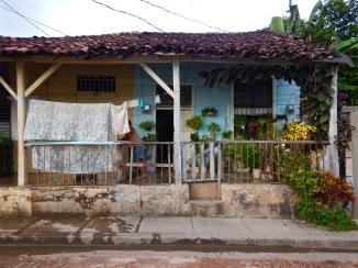 Houses in Baracoa, Cuba
