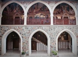 Kykkos monastery Troodos mountains
