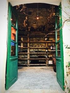 Kamares tavern wine cellar Lofou