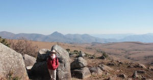 Hiking with a view in Malolotja Nature Reserve