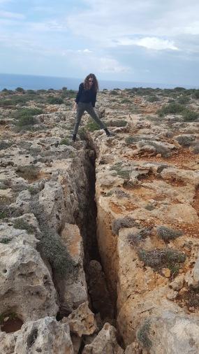 Marfa peninsula canyon