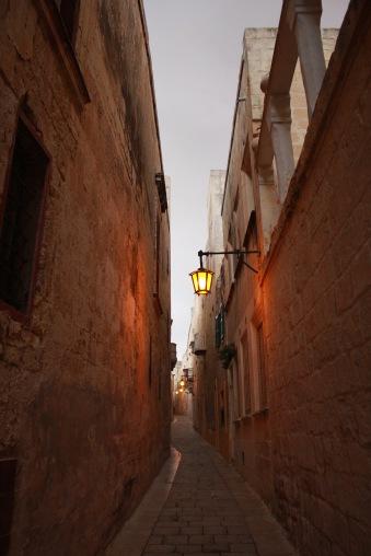 Alley in Mdina Malta