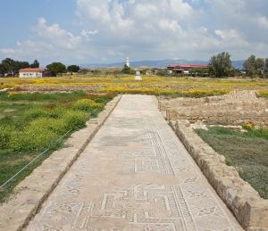 Roman mosaics in Paphos archeological park
