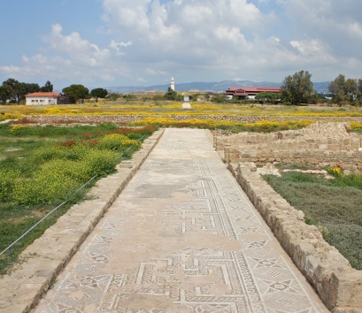 Roman mosaics in Paphos archeological park