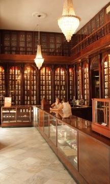 Old pharmacy interior in Habana Vieja