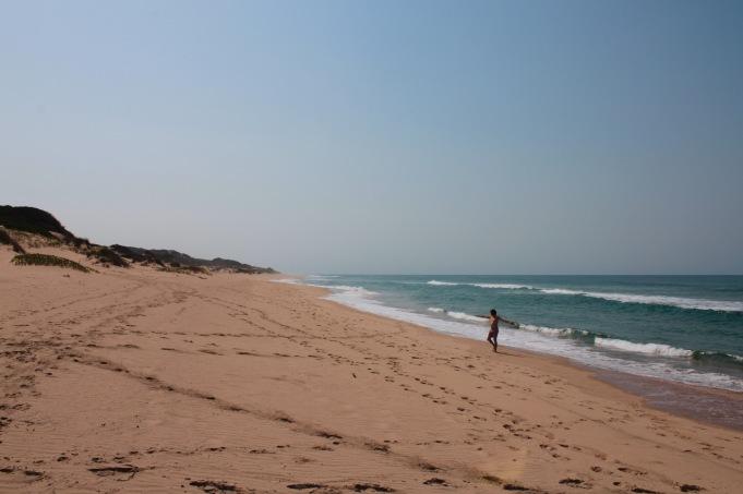 Dunes de Dovela deserted beach