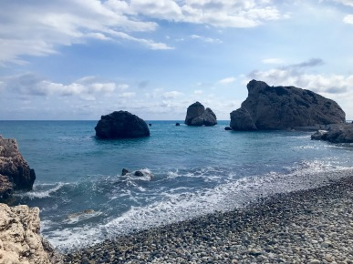Petra tou Romiou Aphrodite's legendary birthplace in Cyprus