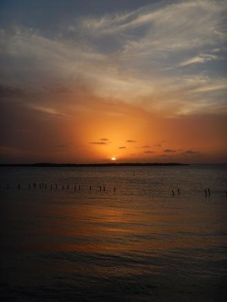 Sunset at Playa los Cocos Cuba