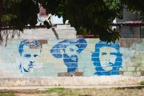 Communist propaganda mural, Vedado Havan