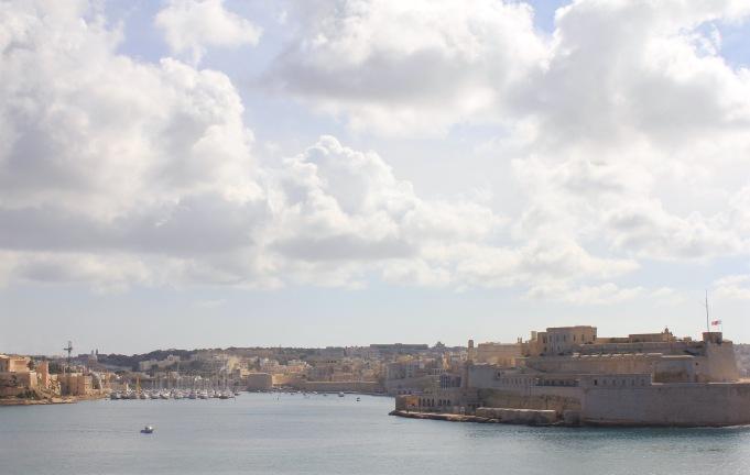 The Three Cities across the harbor