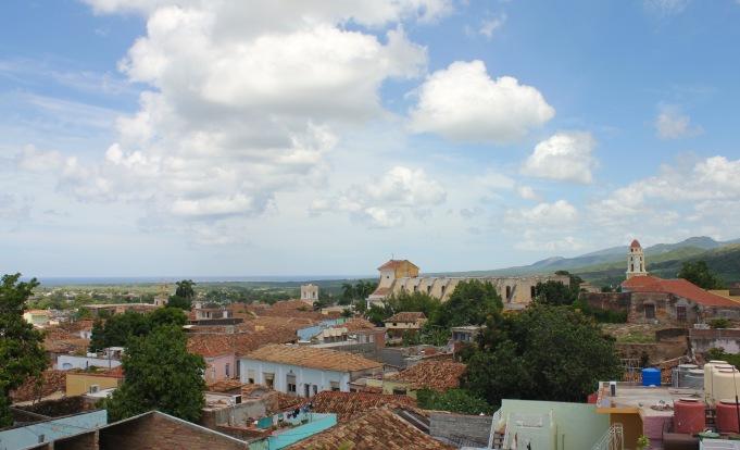 Trinidad rooftop view Cuba