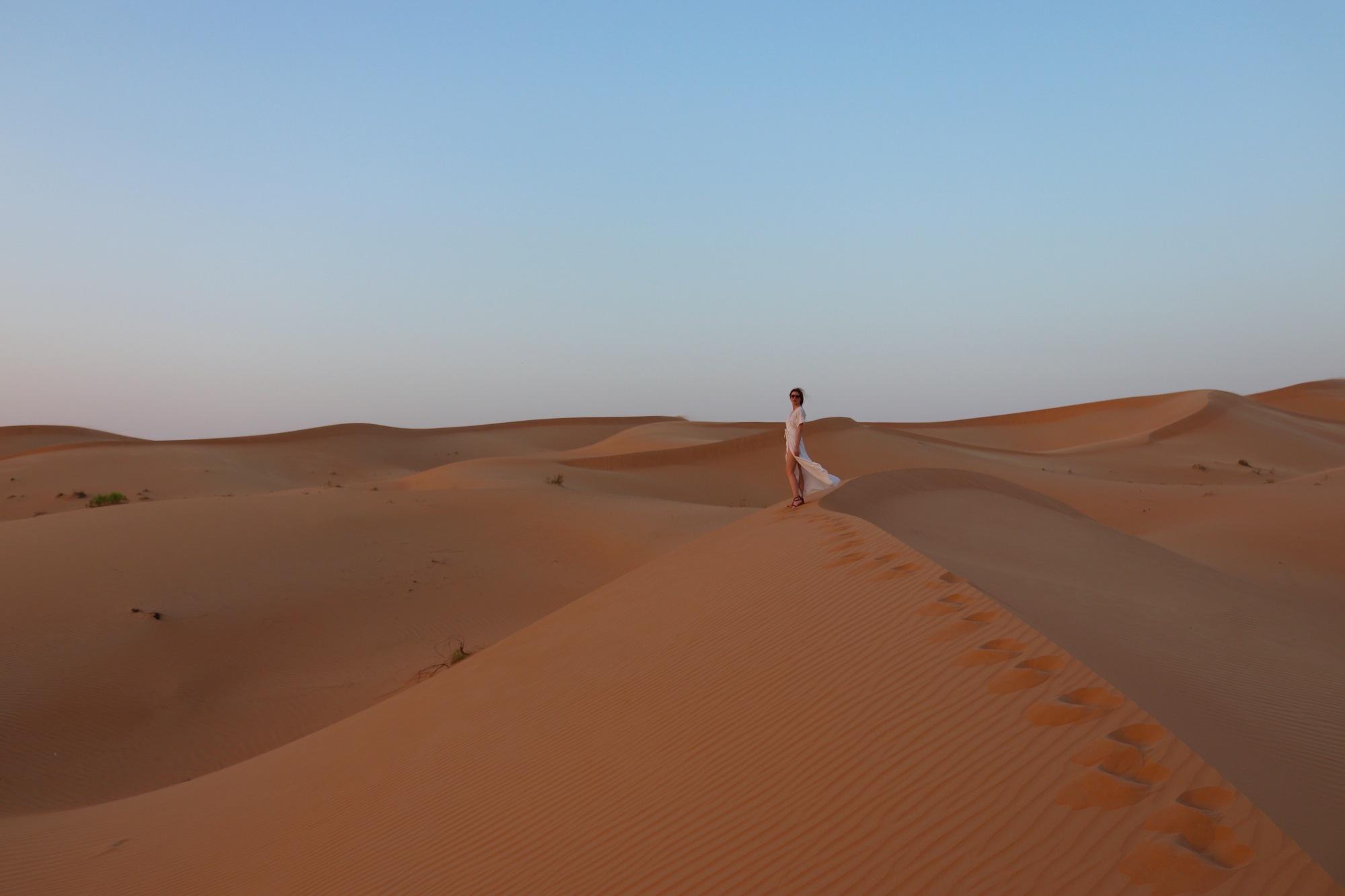 Abu Dhabi sand desert Telal Resort