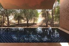 Private pool at Al Wadi Desert Resort