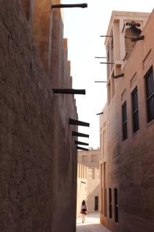Alley in Dubai's Bastakia quarter