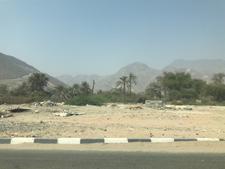 Fujairah scenic road