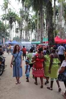 Indigenous Day 2017 in the Palmentuin Paramaribo