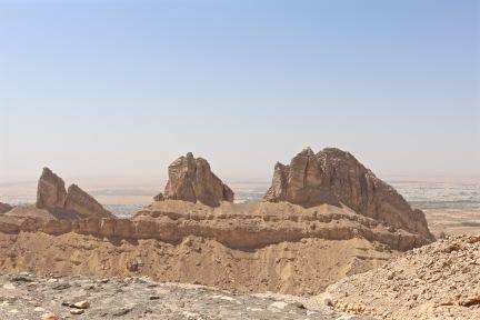 Jebel Hafeet rock formations