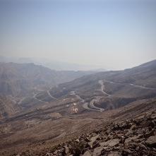 Jebel Jais mountain road RAK