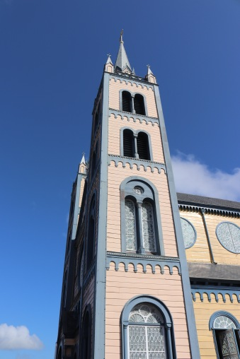 The wooden Saint Peter and Paul cathedral Paramaribo