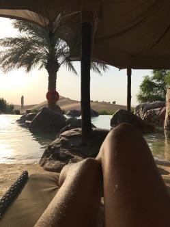 By the Telal resort pool