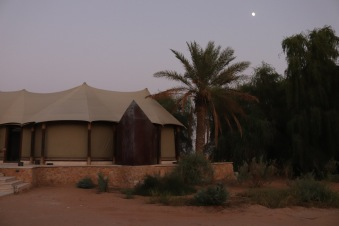 Tell resort tent style private villa