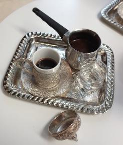 Fancy Turkish coffee