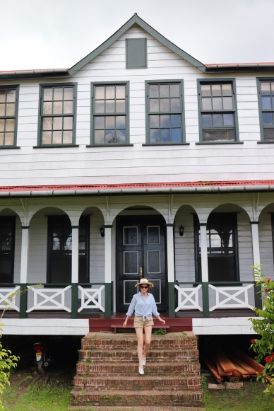 Old plantation house in Frederiksdorp, Suriname