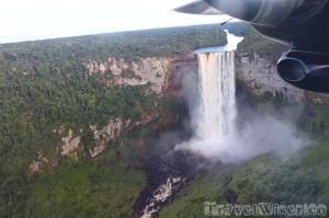 Kaieteur Falls with Roraima Airways Guyana
