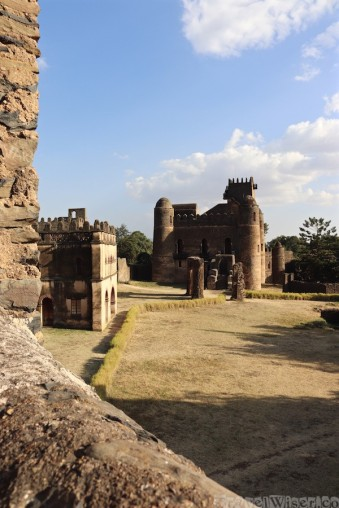 Royal Enclosure Gondar Ethiopia