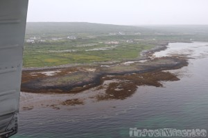 Flying to Inishmore with Are Arann Islands