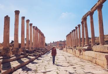 Roman ruins of Jerash, Jordan