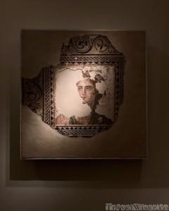 Roman mosaic depicting Bacchus at the Beirut National Museum