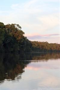 Rewa River at sunset