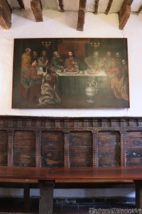 Last Supper, San Diego Monastery Quito