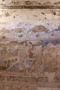 Frescoes, Qusayr Amra bath-house